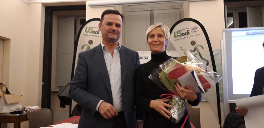 Serata di premiazione per atleti Us Acli con Elisa Rigaudo