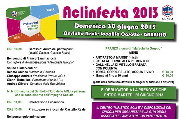 Aclinfesta 2013 - Domenica 30 giugno 2013