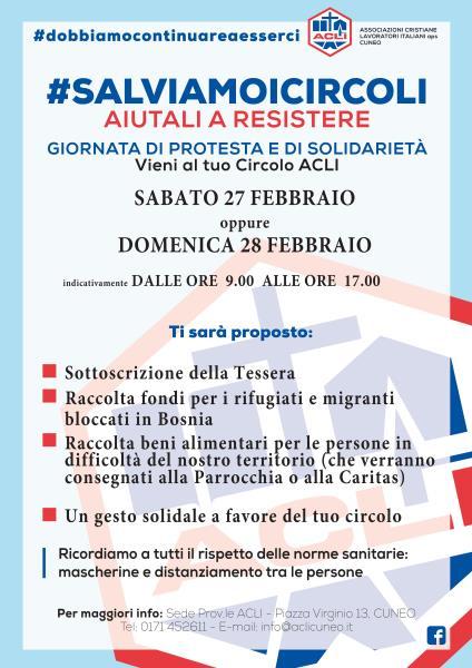 """""""FACCIAMO VIVERE I CIRCOLI"""": DALLE ACLI PROVINCIALI DI CUNEO"""