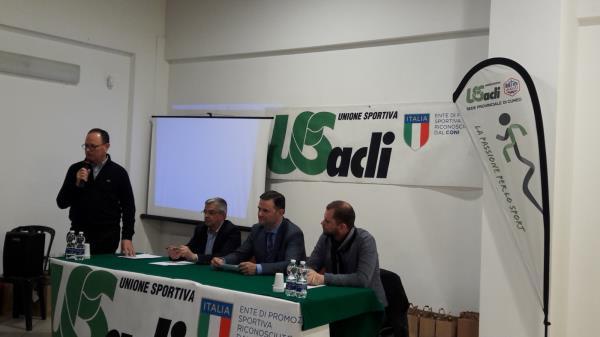 """Cerimonia di premiazione degli atleti Unione Sportiva Acli 2019 al circolo Acli """"Ardens"""" di Cerialdo con le atlete Granda Volley"""