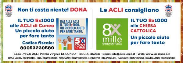 IL TUO 5x1000 alle ACLI di Cuneo
