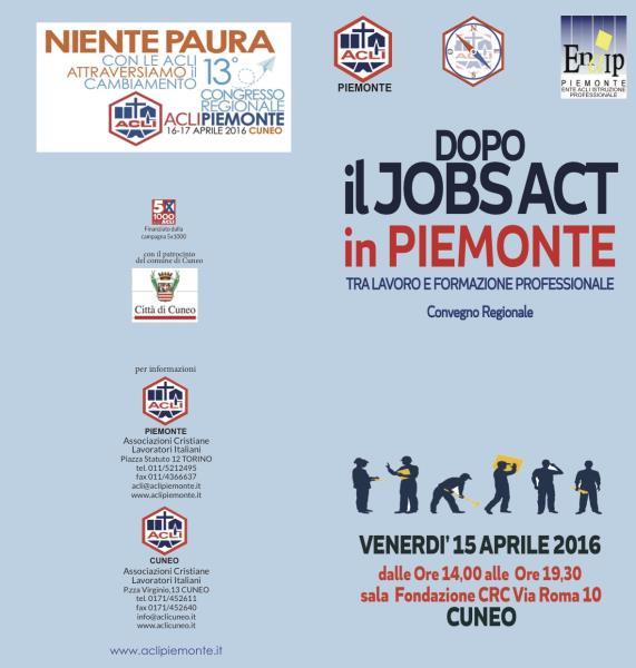 b4d241bcaa Convegno Regionale Acli Piemonte . Il 15 aprile 2016 a Cuneo presso ...