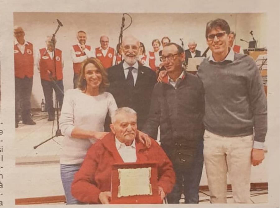 "Targa a Giovanni Ferrero, storico presidente dei ""Gat Ross"""