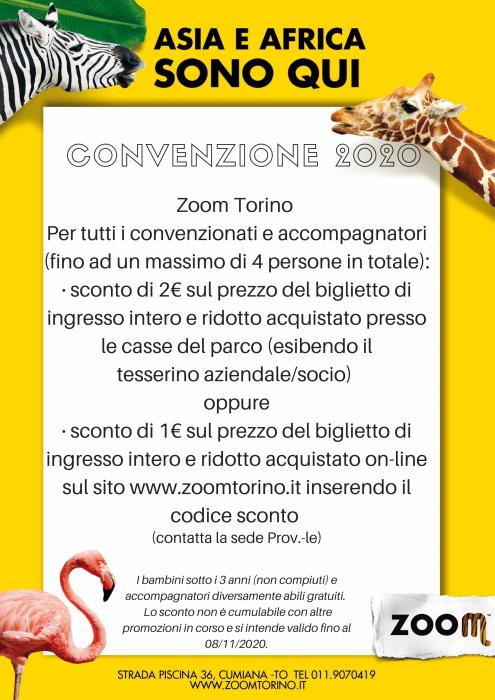 Convenzione con ZOOM